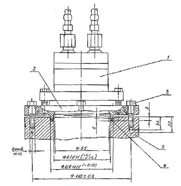 Повторитель давления ПД-4М выносного монтажа